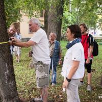 Фоторепортаж: Как в Осмоловке деревья считали