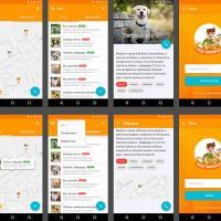Ищу питомца: мобильное и веб-приложение для поиска потерянных и бездомных животных