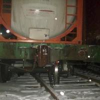 Инцидент в Лиде: с рельсов сошли две цистерны с метанолом