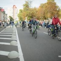 Неделя мобильности в Полоцке: в городе обкатали первую велодорожку