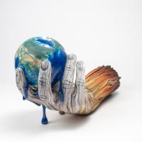 Красота полураспада. Американский скульптор переосмысляет отношения человека и природы
