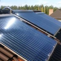 В Новогрудке на крыше детского садика установили солнечный коллектор