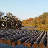 Осенние велопокатушки: гомельчане крутят педали и публикуют атмосферные фото